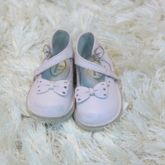 Pantofi copii Adidas nr 18 piele, Fete, Textil