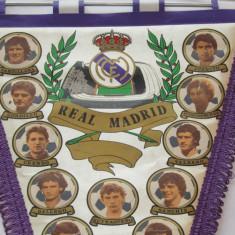 Fanion fotbal REAL MADRID (dimensiuni 44x26 cm)