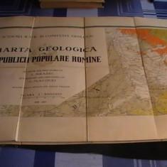 11 -buc-HARTA GEOLOGICA A R.P.R.-INCEPUT-DE L.MRAZEC-TERM-G. MACOVEI-1936-1959-