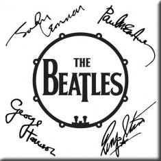 Magnet The Beatles - Signed Drum Logo