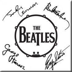 Magnet The Beatles - Signed Drum Logo