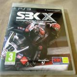 SBK X, Superbike World Championship, PS3, sigilat, alte sute de jocuri! - Jocuri PS3 Altele, Sporturi, 3+, Single player