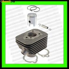 Set cilindri Moto - Set Motor Cilindru Piston Segmenti Scuter Piaggio Ciao Si Bravo Piagio cu pedale