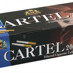 Tuburi tigari CARTEL 200 TUBURI CU FILTRU MARO - Foite tigari