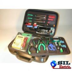 Trusa de scule de baza pt. electronica 220V Pro'sKit