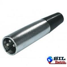 Mufa XLR 3 pini tata - Cablu retea