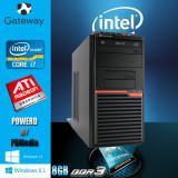Calculator i7 2.93 ghz 8 GB DDR3 HDD 250 GB Video 1 GB DDR3 DVD-RW