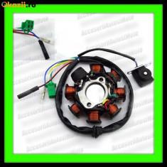 Electrica Moto - MAGNETOU Baotian 125 150 cc 4T 8 Bobine STATOR APRINDERE SCUTER GY6 150cc