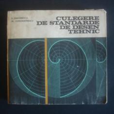 E. DIACONESCU * AL. CONSTANTINESCU - CULEGERE DE STANDARDE DE DESEN TEHNIC