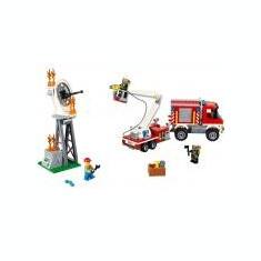 LEGO City - Camion utilitar de pompieri