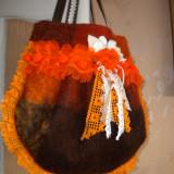 Poseta handmade - Geanta handmade