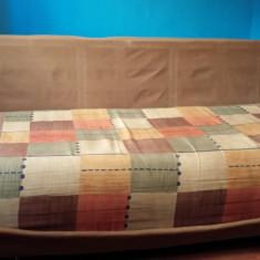 Canapea extesibila cu arcuri foarte confortabila pentru dormit!, Canapea in stil clasic, Canapele extensibile, Din stofa