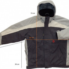 Geaca ski schi ROSSIGNOL originala, aerisiri fermoar (XL) cod-172490 - Echipament ski
