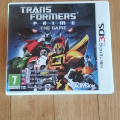 JOC NINTENDO 3DS TRANSFORMERS PRIME THE GAME ORIGINAL / by WADDER - Jocuri Nintendo 3DS, Actiune, 3+, Single player