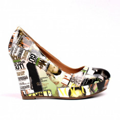 Pantofi dama Lucky verzi
