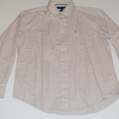Camasa barbati Tommy Hilfiger, Maneca lunga - Camasa Tommy Hilfiger Men's Classic Fit Plaid Shirt M L