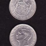 MONEDE ROMANIA 1944 = MIHAI I 500 LEI XF/AUNC ARGINT 12 gr. - 2 buc. PRET REDUS - Moneda Romania