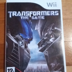 Jocuri WII Activision, Actiune, 12+, Single player - JOC WII TRANSFORMERS THE GAME ORIGINAL PAL / by DARK WADDER