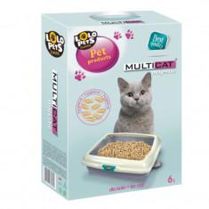 Pisica - NISIP MULTICAT MAJESTIC 6 L
