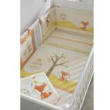 Tutti Bambini – 511100/WW Set lenjerie 7 piese Woodland Walk Bedding