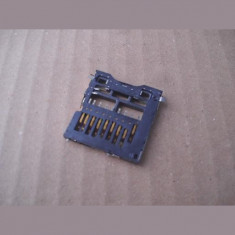 CONNECTOR FOR SD CARDS PUSH-PUSH, SMD - Cleste sertizare