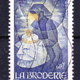 Timbre FRANTA 1980 = MESERII - BRODERII - Timbre straine, Stampilat