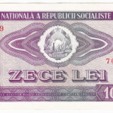 3) Bancnota 10 Lei 1966 a.UNC