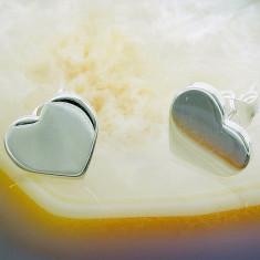 Cercei argint - Cercei din Argint 925, cu model Inima, cod 799