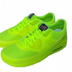 Nike Air Max - Adidasi barbati Nike, Marime: 38, 39, 40, Culoare: Galben, Textil