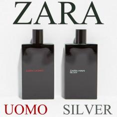 Parfum barbati ZARA MAN 150 ml Uomo Silver SET 2 x 75 ML paco armani dg NOU, Seturi