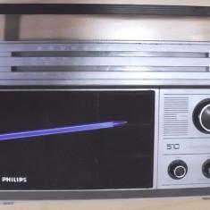 Aparat radio - Radio vechi de colectie functional philips 4 lungimi de unde FM etc