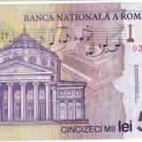 Bancnota 50.000 lei ( 50000 ) 2001, polymer PERFECT UNC (4)