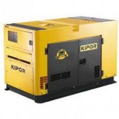 Generator curent - KIPOR generator insonorizat KDE 25 SS, diesel, 18.5 kW, fara automatizare