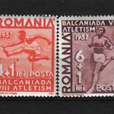 Timbre Romania, Nestampilat - RRR BALCANIADA DE ATLETISM LP. 121 MNH