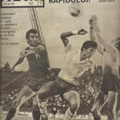 Revista SPORT nr. 13/1972 FC Arges Rapid