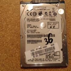 Hard-disk / HDD HITACHI 250GB HTS543225A7A384 Defect -Sectoare realocate - HDD laptop Hitachi, 200-299 GB, SATA