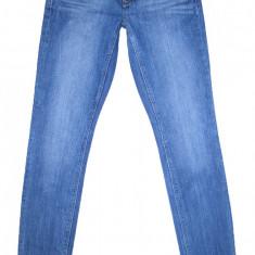 Blugi Conici ESPRIT - (MARIME: 27 x 32) - Talie = 78 CM, Lungime = 102 CM - Blugi barbati Esprit, Culoare: Albastru, Prespalat, Skinny, Normal