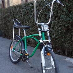 Bicicleta retro, 20 inch, 20 inch, Numar viteze: 3 - Pegas KENT reconditionat