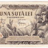 Bancnota 100 lei 5 decembrie 1947 (5), An: 1947