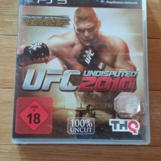 JOC PS3 UFC UNDISPUTED 2010 ORIGINAL / by WADDER - Jocuri PS3 Thq, Sporturi, 18+, Multiplayer
