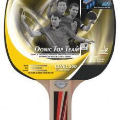 Paleta ping pong - Paleta tenis de masa Allround TOP TEAMS 500
