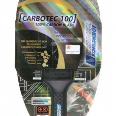 Paleta ping pong - Paleta tenis de masa Attack CarboTec Line 100 anatomica