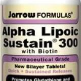 Alpha Lipoic Sustain 30cps 300mg 30tb