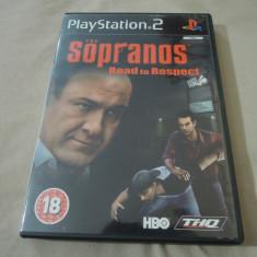 Joc The Sopranos Road to Respect, PS2, original, alte sute de jocuri! - Jocuri PS2 Thq, Actiune, 18+, Single player
