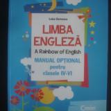 Carte educativa - LUIZA GERVESCU - LIMBA ENGLEZA * A RAINBOW OF ENGLISH {ilustratii color}