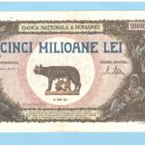 5000000 - 5.000.000 lei 1947 - 25 iunie 1947 - XF+++ aUNC, An: 1947
