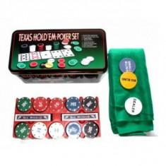 Poker chips - Set Poker 200 piese