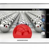 Tableta Modecom 7'', FreeTAB 7003, HD+, X2, 3G+, 4GB, alb / gri