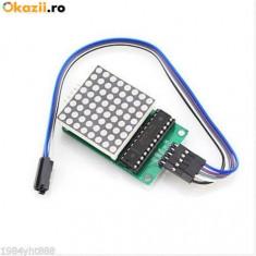 5 buc x Modul Matrice 8x8 LED-uri driver MAX7219 Arduino / PIC / AVR / ARM