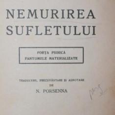 NEMURIREA SUFLETULUI - WILLIAM CROOKES